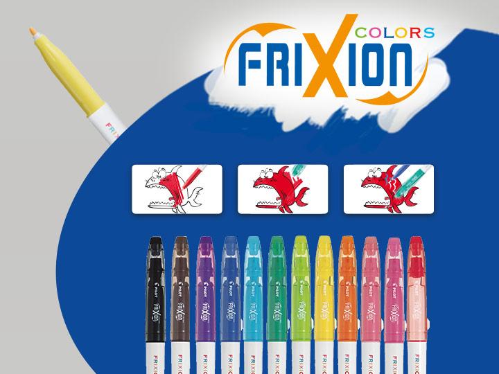Flomasteri Pilot FriXion Colors