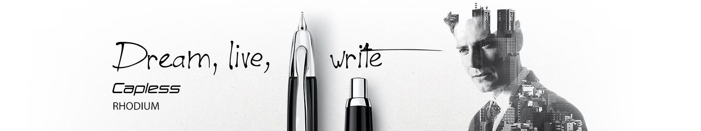 Pilot - Fine Writing - Capless Rhodium