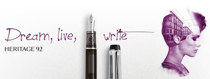 Pilot - Fine writing - Heritage 92 Black