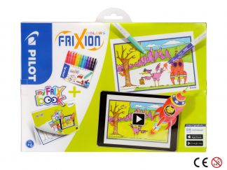 FriXion Colors - Set My FriX Book x 12 - Šareno - Srednji Vrh