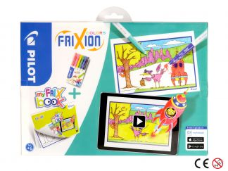 FriXion Colors - Set My FriX Book x 6 - Šareno - Srednji Vrh