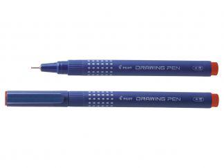 Drawing Pen 02 - Flomaster za crtanje - fineliner - Crvena boja - Tanki Vrh
