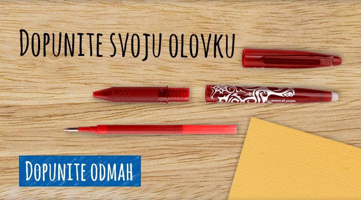 Dopunite svoju olovku